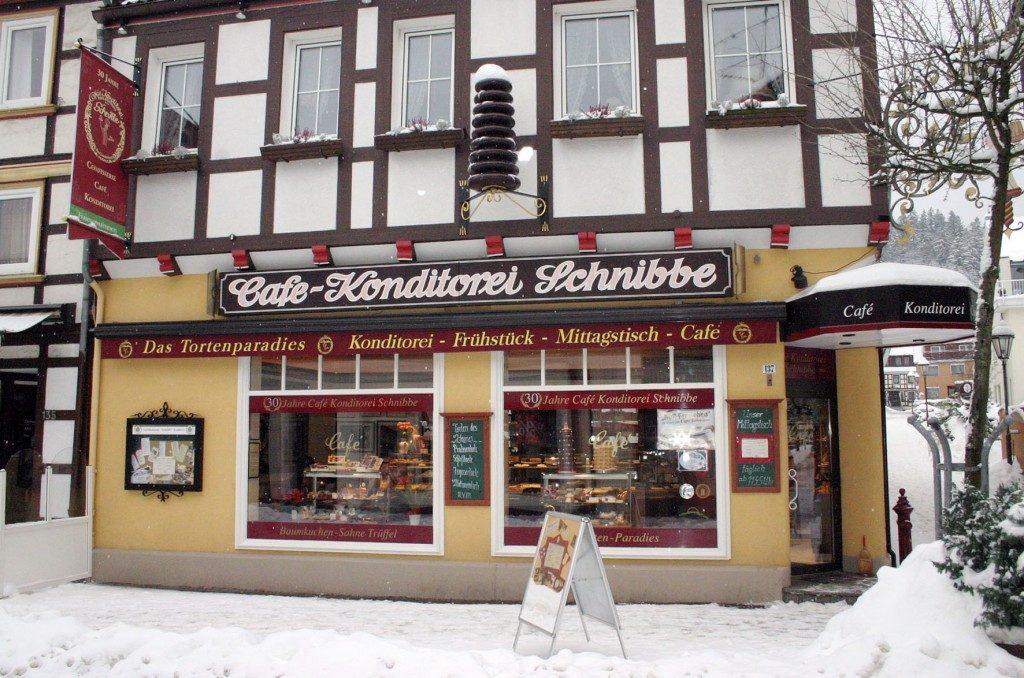 Naschkatzen Willkommen Café Schnibbe