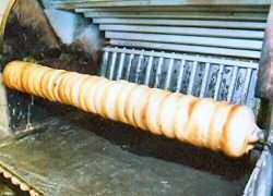 Mehrere Schichten ergeben den fertigen Baumkuchen