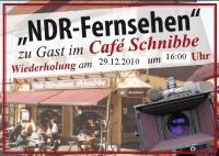 Café Schnibbe im NDR Fernsehen - exklusive Filmaufnahmen