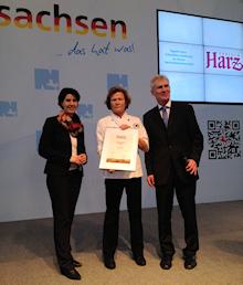 """Elke Schnibbe und Café Schnibbe erhalten das Label """"Typisch Harz"""""""