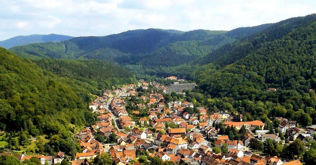 ruhige Kurstadt im Südharz, Ideal zum Einkaufen und Erholen